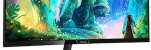 Philips apuesta por diseño curvo, resolución 8K y tecnología HDR en sus nuevos monitores