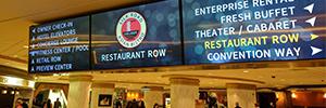 El resort Westgate de Las Vegas instala una red de digital signage integrada por más de 150 pantallas