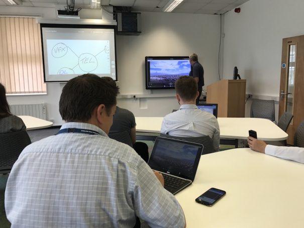 Sony vision exchange Universidad de Gales