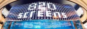 LG logra con su gigantesca pantalla OLED de alta definición en Dubai Mall tres Guinness World Records