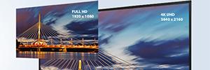 Las pantallas AG Neovo QD-Series ofrecen una óptima experiencia visual en digital signage