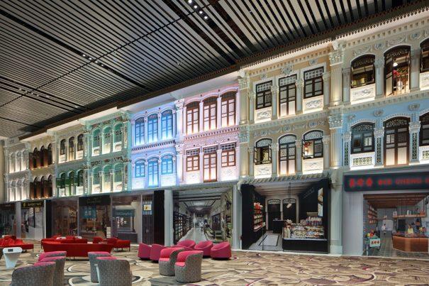 Aeropuerto Changi Singapur T4