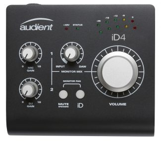 Audient iD4-Black
