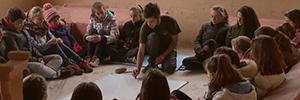 El proyecto Aula Canon busca introducir a los jóvenes en el mundo audiovisual