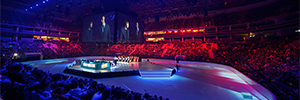 La final europea de League of Legends contó con la proyección de Christie