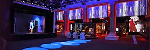 Los proyectores de Digital Projection acompañan en la visita inmersiva del British Music Experience