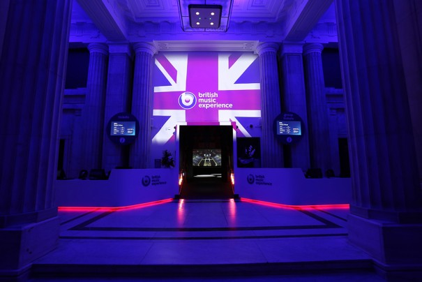 Digital Projection The British Music Experience