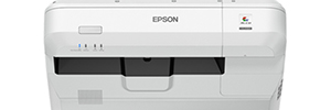 Epson projector EB-1470Ui: integrated and interactive solution for video conferencing