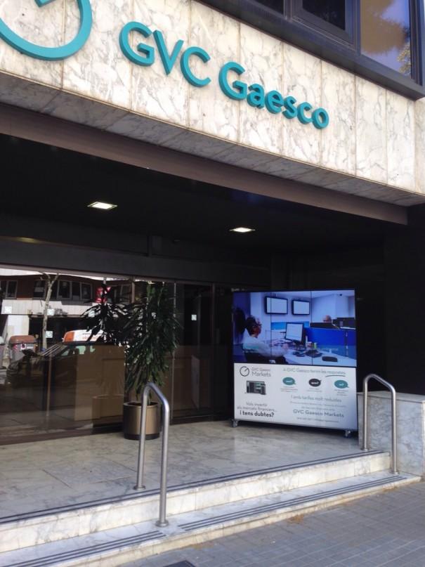 GVC Gaesco Tecco WallSign Trio