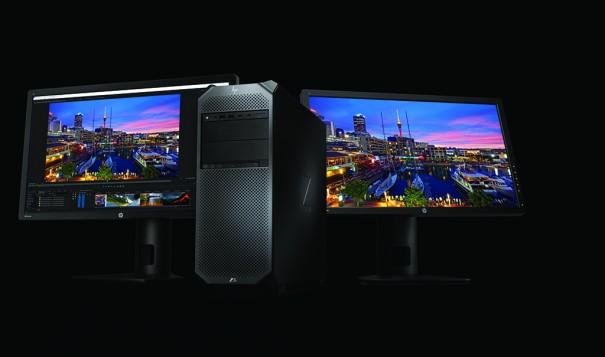 HP Z6 con Z27x displays