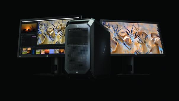 HP Z8 con Z27x displays