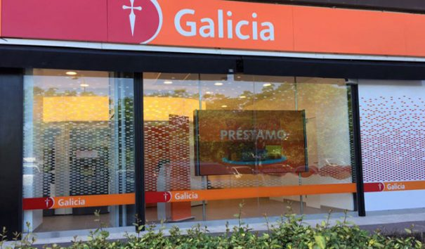 LG en Banco Galicia Argentina