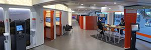 Banco Galicia dinamiza la comunicación con los clientes con soluciones de digital signage