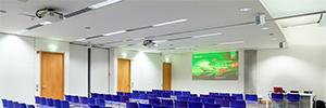 NEC contribuye a la transformación audiovisual del Palacio de Congresos de Valencia
