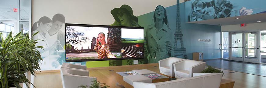 NanoLumens helps to give a more modern look to the headquarters of Scripps Networks Interactive