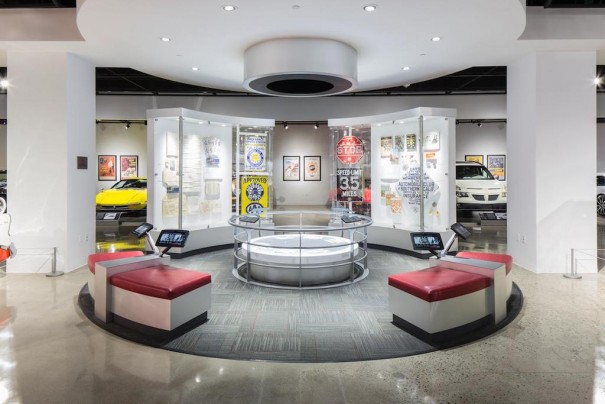 Petersen Automotive Museum LinkRay Panasonic