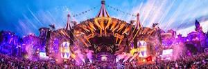 Tomorrowland conecta vía streaming cinco continentes con control simultáneo de la iluminación