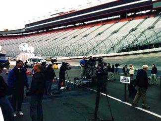 point sourceBristol Motor Speedway Audinate dante