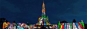 Fátima concluye las celebraciones de su centenario con un espectáculo de luz y sonido