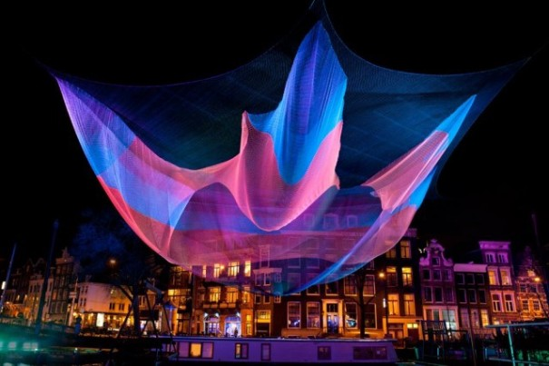 Amsterdam luce di festival foto janusvandeneijnden