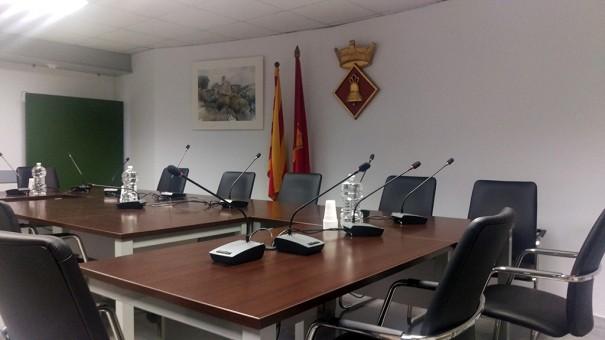 Apart sonoriza salon de plenos del ayuntamiento Sant Marti Sarroca