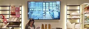 Textura conecta sus puntos de venta insignia con una red de digital signage
