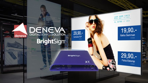Brightsign y Deneva
