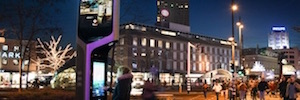 Citybeacon Zytronic uses technology to create smart urban platforms in the Netherlands