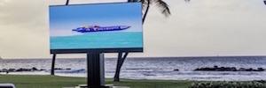 C Seed 201: TV Led exterior de 270 pulgadas con tecnología cinemática