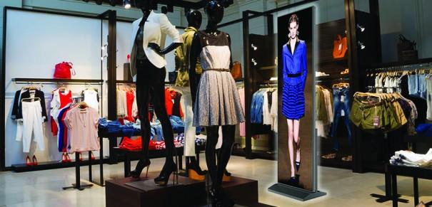 NanoLumens LED Digital Posters retail
