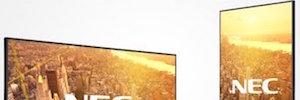 NEC Display ofrece integración y simplicidad con las pantallas de la Serie C para uso comercial
