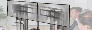 Peerless-AV desarrolla una solución flexible de videoconferencia para montaje de suelo a pared