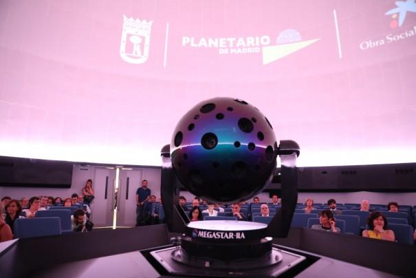Planetario de Madrid Megastar iia