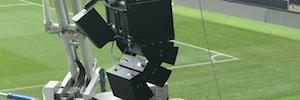 El estadio Pride Park renueva su sistema de audio para reforzar la experiencia de los aficionados