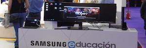 Samsung muestra los avances de su proyecto de transformación digital del aula