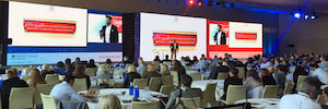Led screens large format star business events