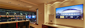The Mercedes-Benz Arena renews its IPTV infrastructure and digital signage with Tripleplay
