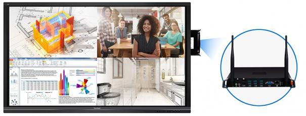 Viewsonic e Intel se unen para facilitar la colaboracion