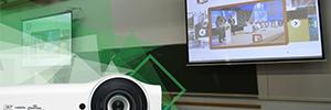 La Facultad de Ciencias de la Actividad Física y el Deporte de Valencia renueva su equipo AV con Vivitek
