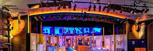 Los sistemas de sonido de d&b permiten al Arcade Theatre adentrarse en los musicales