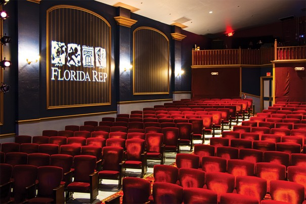 db audio en Florida Reps Theater