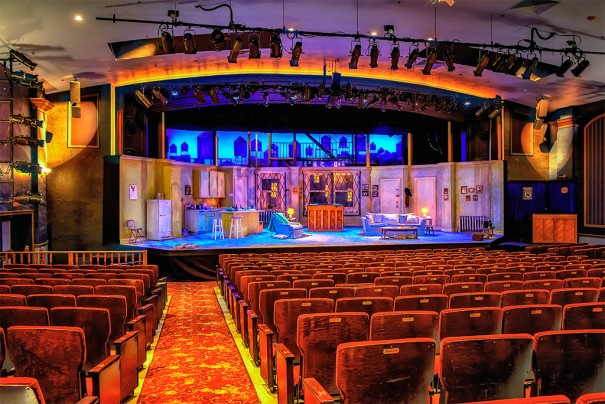db audio en Florida Reps Theater