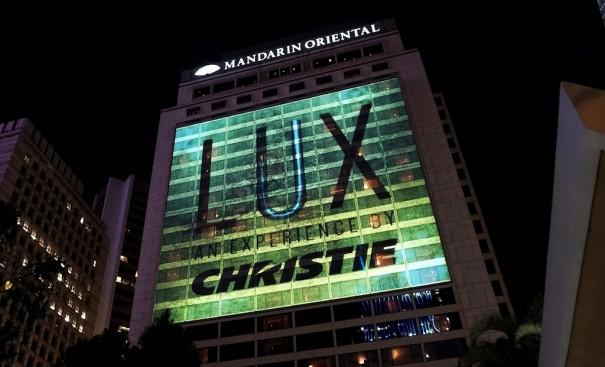 Christie Avollusion lumieres Hong Kong Mandarin Oriental