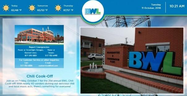 ConnectedSign en BWL