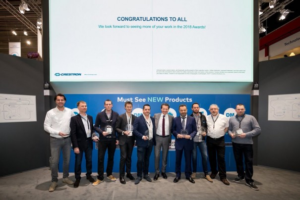 Crestron integration awards 2017 ganadores