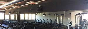 El gimnasio Roselli apuesta por la tecnología AV como soporte para la actividad física