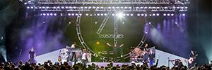 Elation ayuda a crear el ambiente retro para la última gira de Foreigner