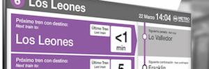 Icon Multimedia integra su sistema de información Deneva en el Metro de Santiago de Chile