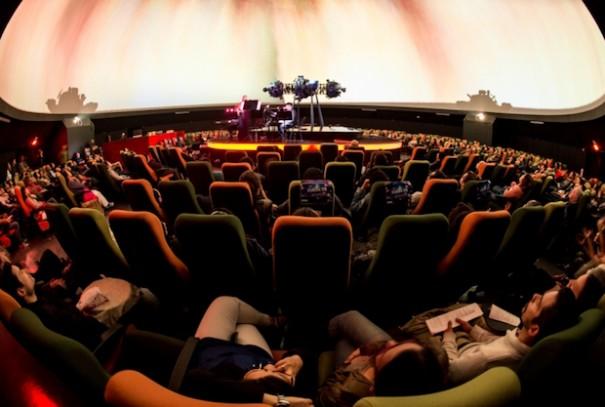 Bogota Planetarium Idartes festival FullDome