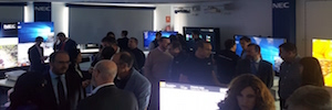 I partnes canale supportano l'innovazione proposta NEC Display